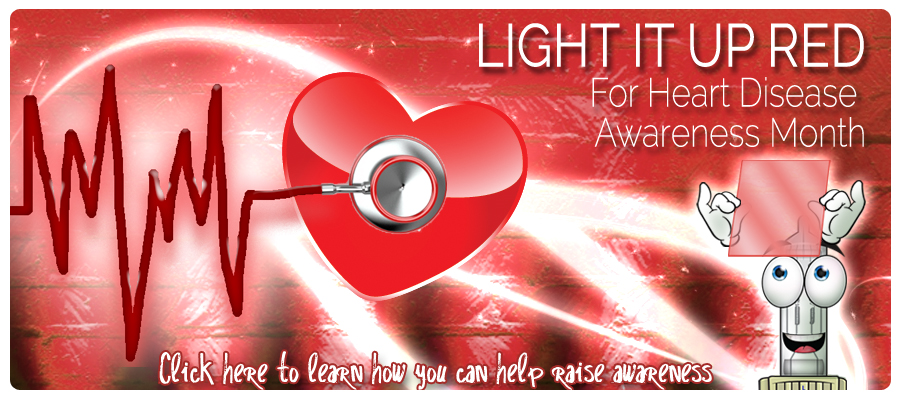 Go Red for Heart Awareness month