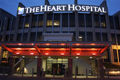 The Heart Hospital Goes Red - Courtesy http://www.mshanews.org/news/article.aspx?id=1076