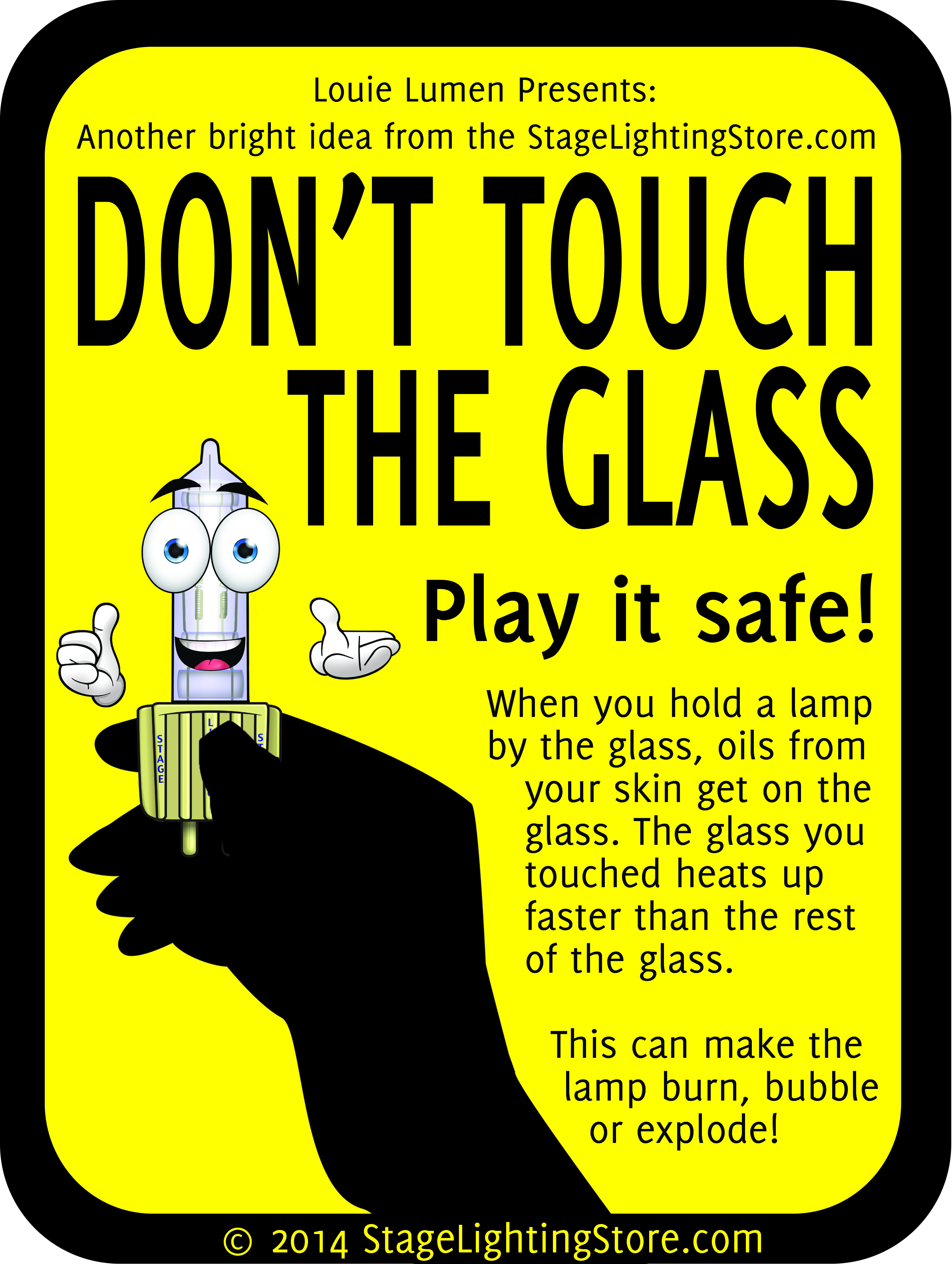 June Safety Month Posters | Stage Lighting Textbook