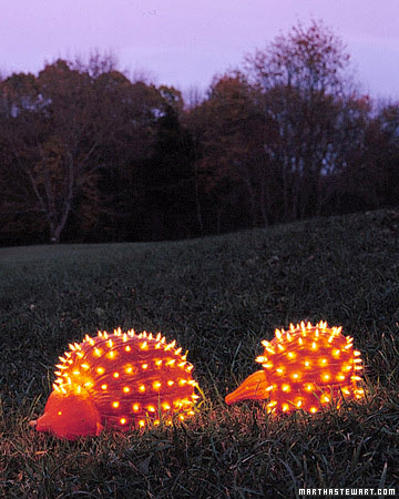 Pumpkin-Porcupines-Halloween-Decoration-Ideas